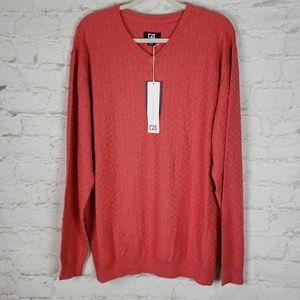 Cutter & Buck NWT Mens Mitchell V Neck Sweater XL